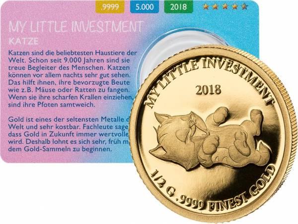 10 Dollars Salomonen My Little Investment Katze 2018