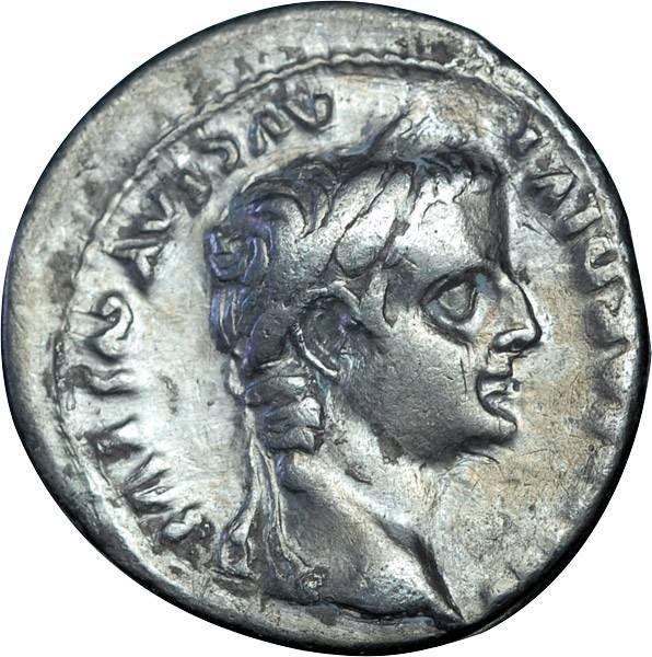 Denar Römisches Kaiserreich Kaiser Triberius