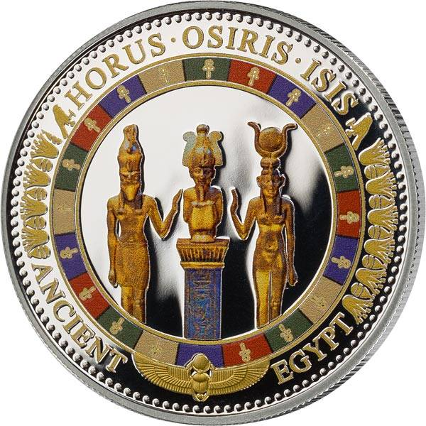 2 Dollars Salomonen Götterfamilie Horus Osiris Isis 2015