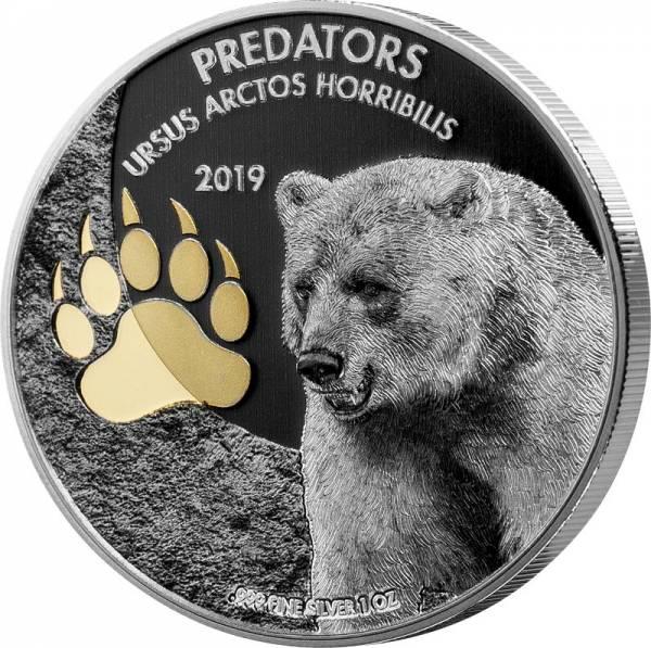 20 Francs Kongo Predators Grizzly 2019