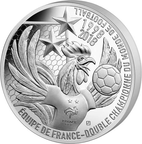 10 Euro Frankreich Weltmeister 2018