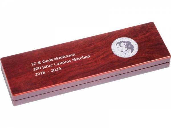 Münzetui für 6 x 20-Euro-Gedenkmünzen Grimms Märchen