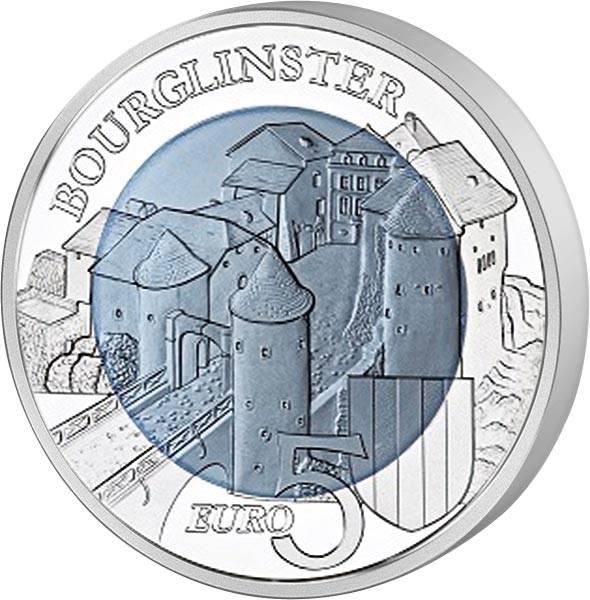 5 Euro Luxemburg Schloss Bourglinster 2019