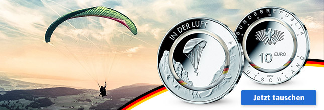 Hier geht's zur Reservierung der 10 Euro Münze 2019