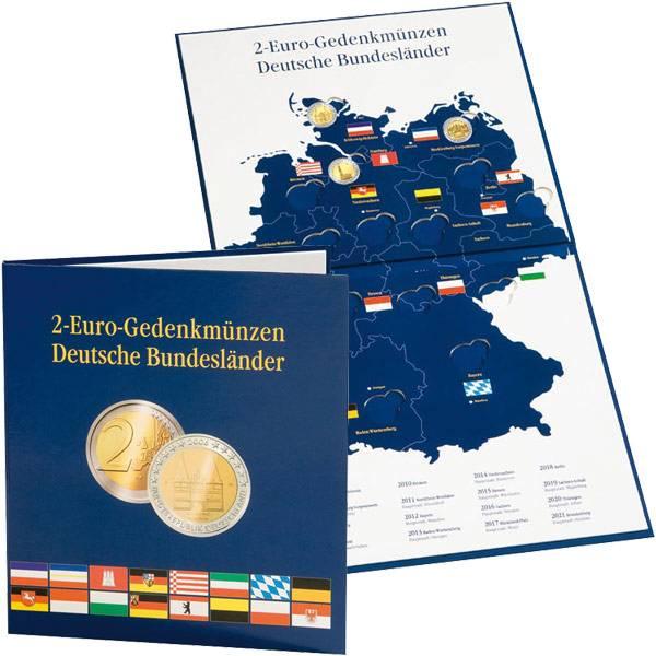 Münzalbum 2 Euro Deutsche Bundesländer