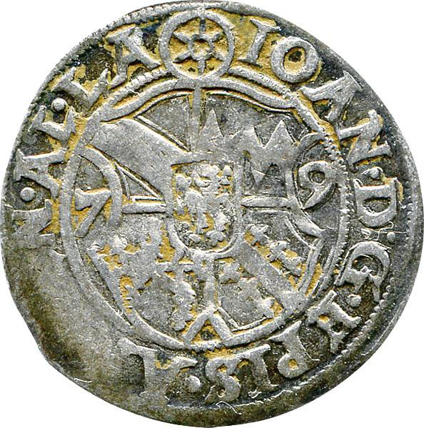 ½ Batzen Straßburg Bischof Johann von Manderscheid 1576-1591