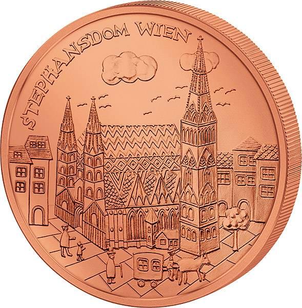 10 Euro Österreich Wien 2015   prägefrisch