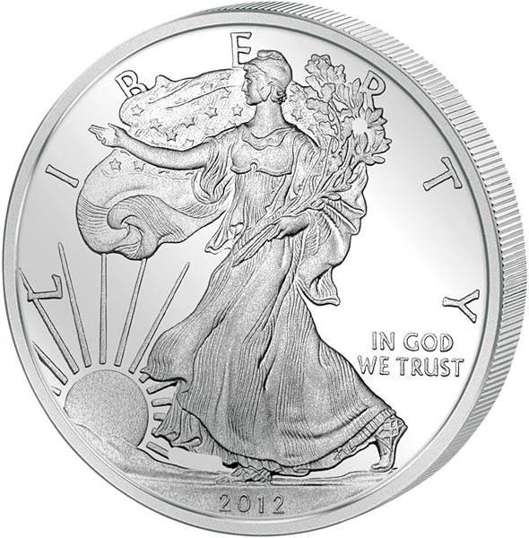 1 Unze Eagle Liberty USA 2012