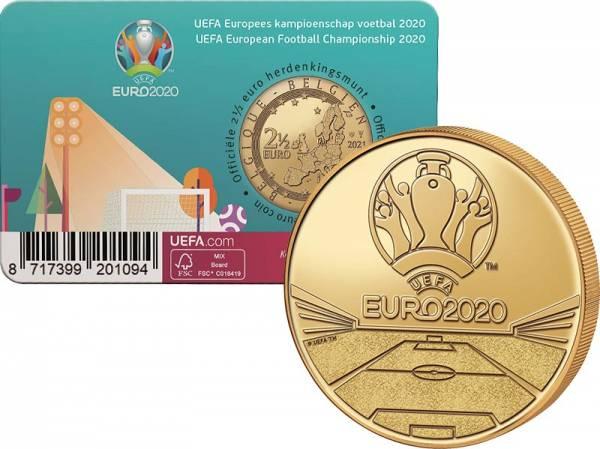 2,5 Euro Belgien UEFA 2021