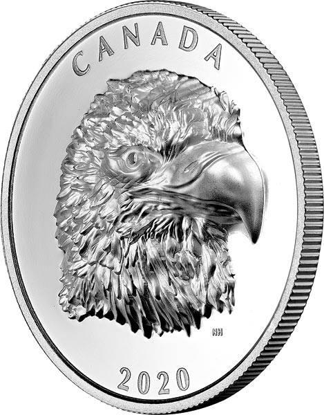 25 Dollars Kanada Adler 2020