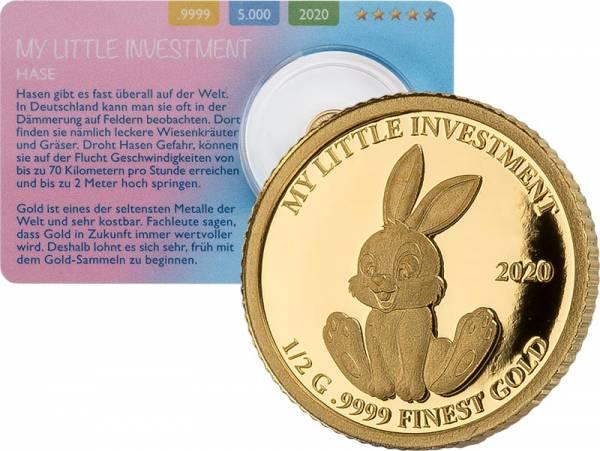 10 Dollar Salomonen My Little Investment Hase 2020