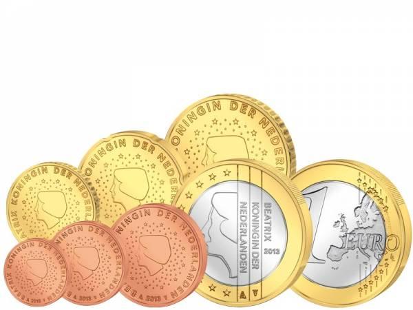 Euro-Kursmünzen Niederlande 2013