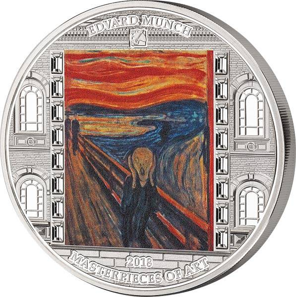 20 Dollars Cook-Inseln Edvard Munch - Der Schrei 2018