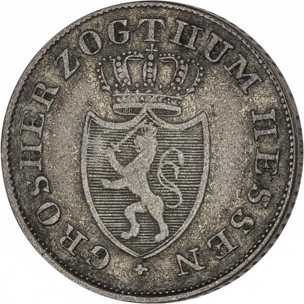 6 Kreuzer Hessen-Darmstadt Großherzog Ludwig I. 1821-1828