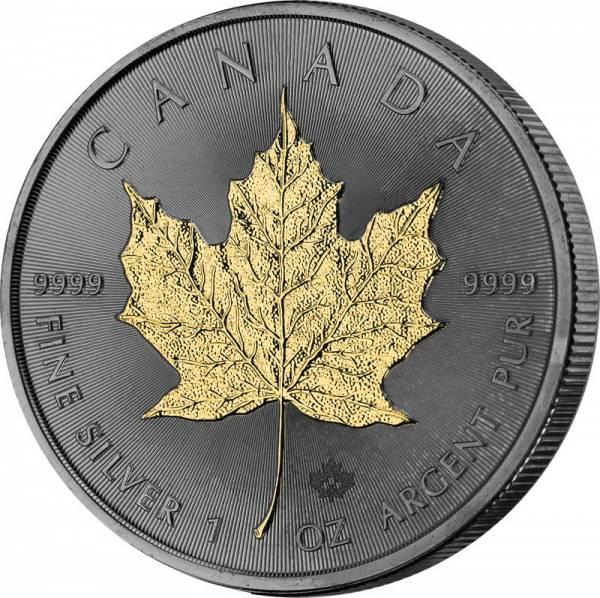 1 Unze Silber Kanada Maple Leaf 2020