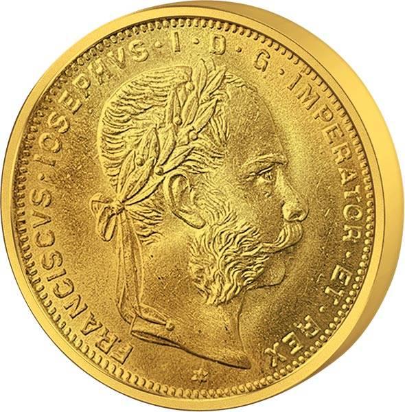 8 Florin Österreich Franz Joseph 1892 Replik
