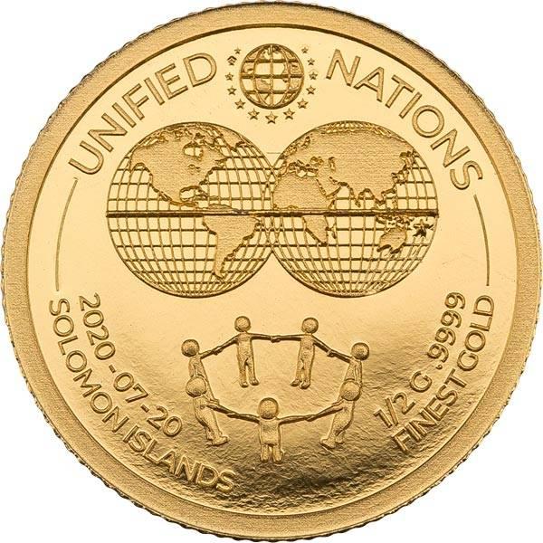 10 Dollars Salomonen Menschenkette 2020