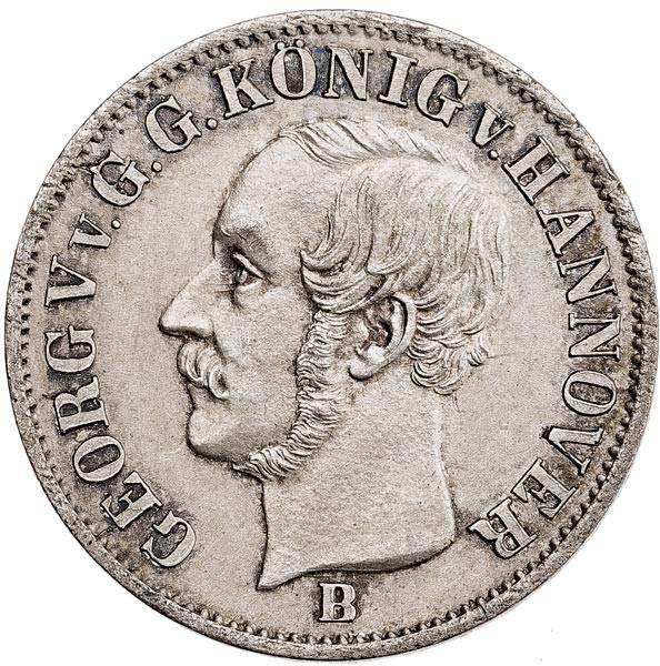 1/12 Taler Hannover König Georg V. 1852-1853