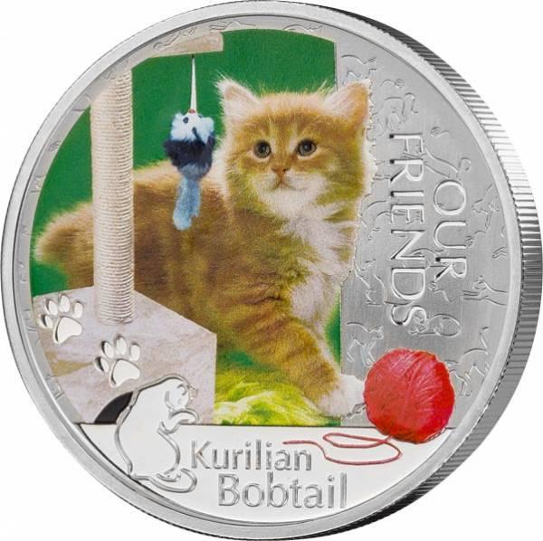 2 Dollars Niue Kurilen Bobtail 2012