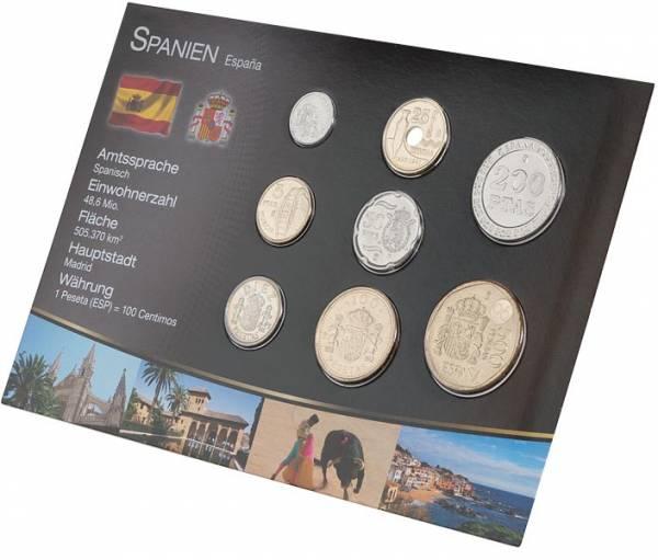 Premium-Kursmünzensatz Spanien 1989-2001