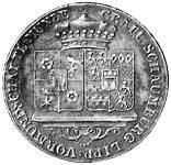 Taler Konventionstaler Vormundschaft 1802 vz-st