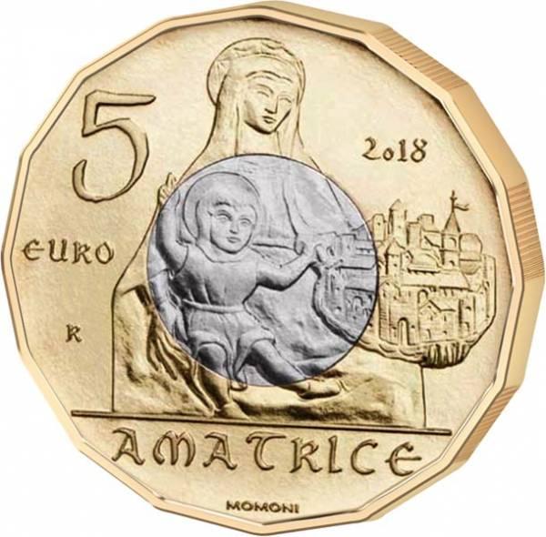 5 Euro Italien Kunstschätze von Amatrice 2018