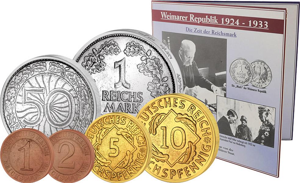 Münzen Des Dritten Reichs Der Alliierten Besatzung Reppa