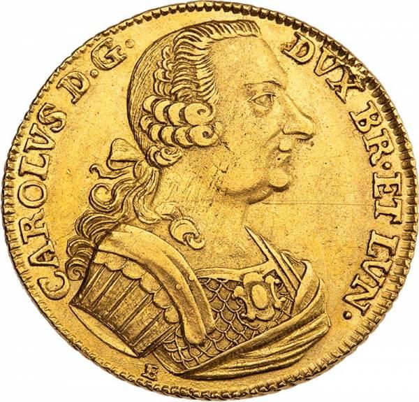 10 Taler Braunschweig-Wolfenbüttel Herzog Karl I. 1763