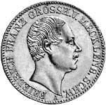 Taler Friedrich Franz 1848 Sehr schön