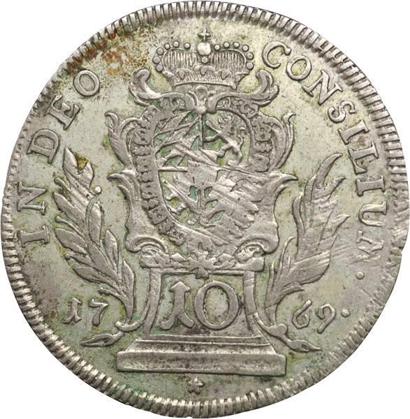 10 Kreuzer Bayern Maximilian III. Joseph 1764-1777   sehr schön