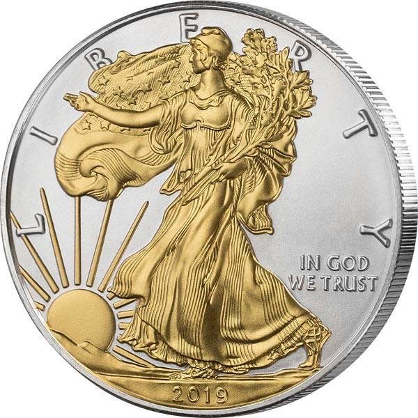1 Unze Silber USA Eagle Liberty 2019