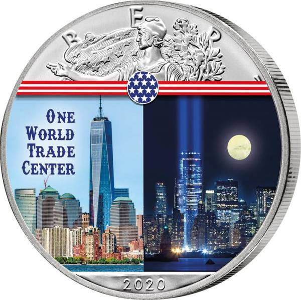 1 Dollar USA One World Trade Center 2020