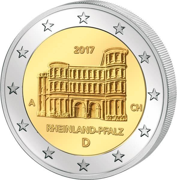 2 Euro BRD Rheinland-Pfalz Porta Nigra 2017