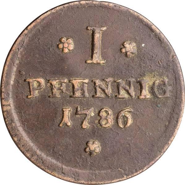 1 Pfennig Freie Reichsstadt Frankfurt 1786-1806