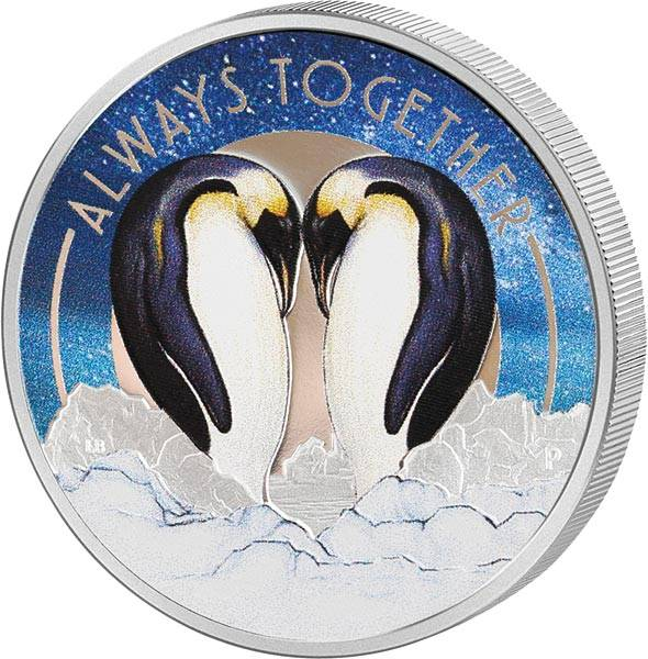 50 Cents Tuvalu Always Together Pinguine 2018