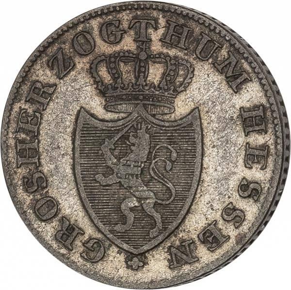 6 Kreuzer Hessen-Darmstadt Großherzog Ludwig II. 1833-1837
