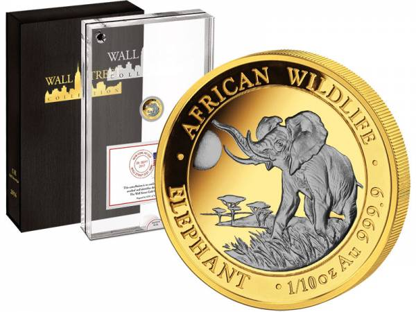 Wall Street Investment Afrikanischer Elefant 2016