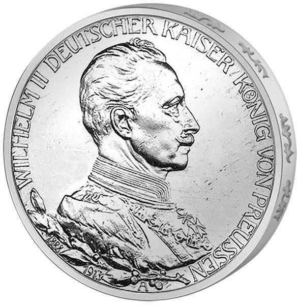 3 Mark Preußen 25.Regierungsjubiläum 1913