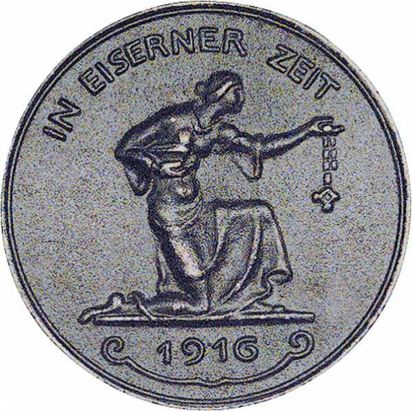 Medaille 1. Weltkrieg (Original) 1916 Sehr schön