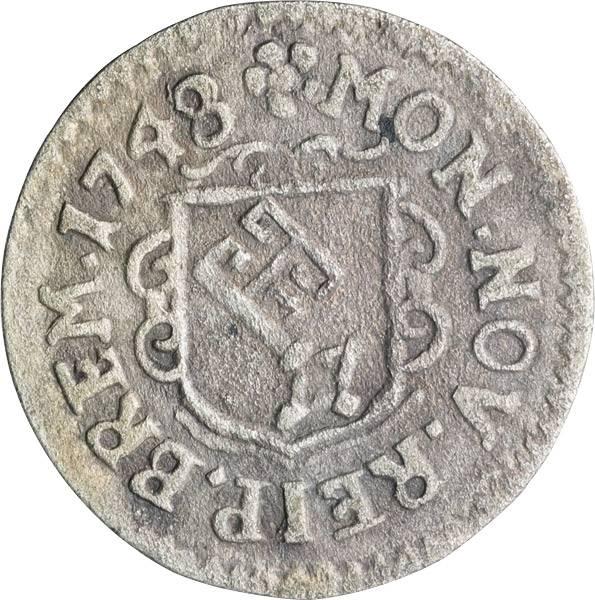 1 Groten Freie und Hansestadt Bremen 1745-1752