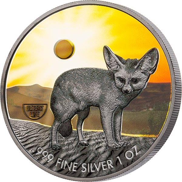 2 Dollars Niue Fennek 2020