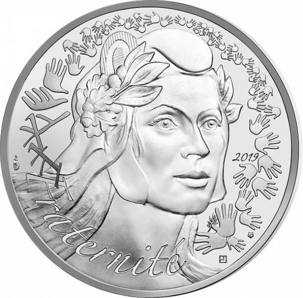 20 Euro Frankreich Marianne Fraternité 2019