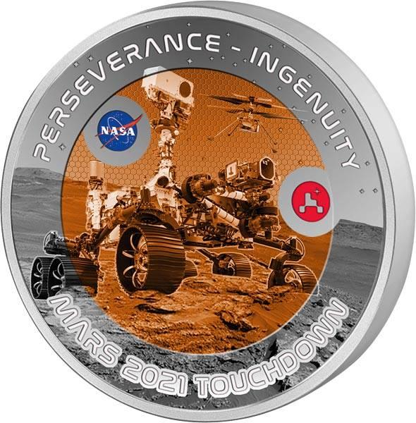 1/2 Dollar Fidschi NASA 2021