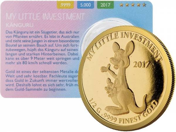10 Dollars Salomonen My Little Investment Känguru 2017