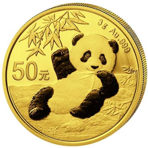 50 Yuan China Panda 2020