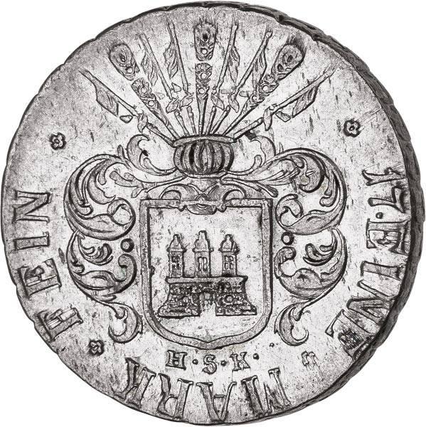 32 Schilling Hamburg Freie und Hansestadt 1809