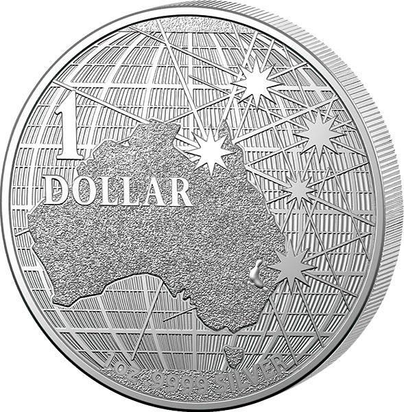 1 Unze Silber Australien Unter dem südlichen Himmel 2021