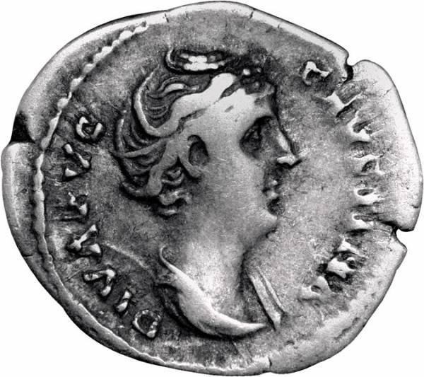Denar Rom Kaiserin Faustina - Die Ältere