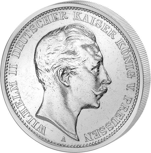 2 Mark Preußen Wilhelm II.