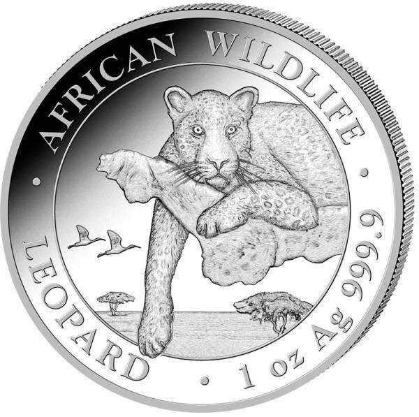 1 Unze Silber Somalia Leopard 2020